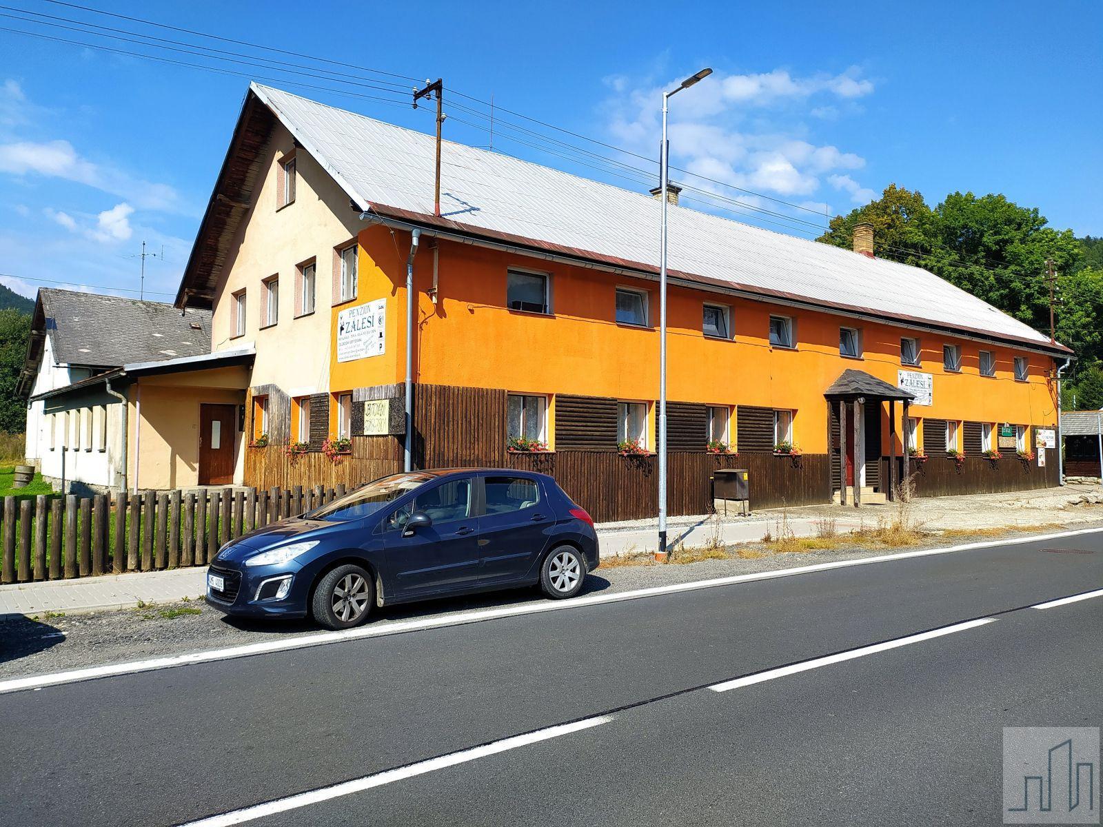 Prodej penzionu 1261 m2, pozemek 8617 m2, v obci Loučná nad Desnou, okres Šumperk
