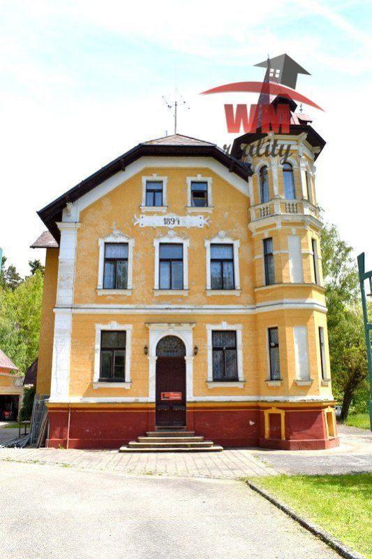 Prodej komerčního objektu k investici, Františkovy lázně