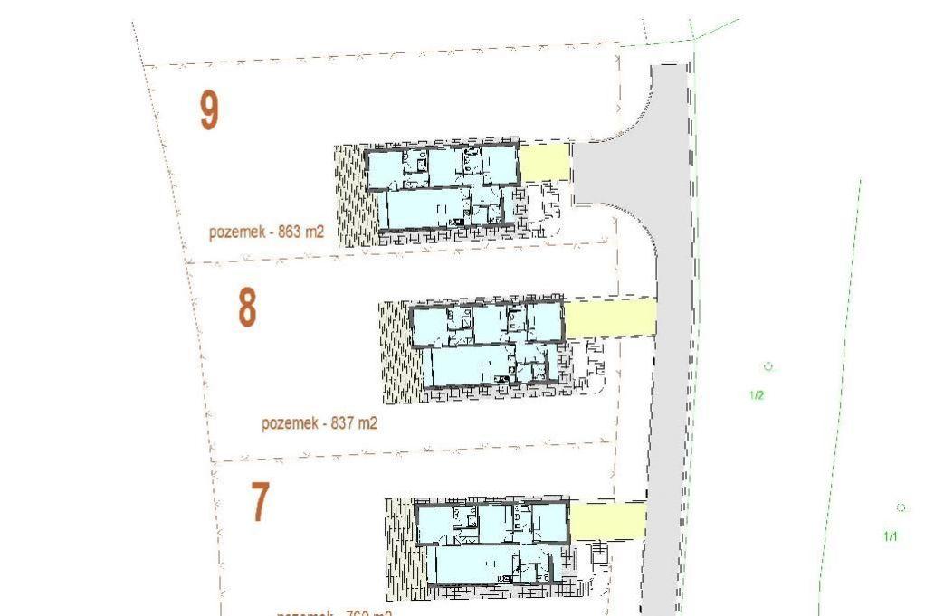 Stavební pozemek pro stavbu RD, Tučapy