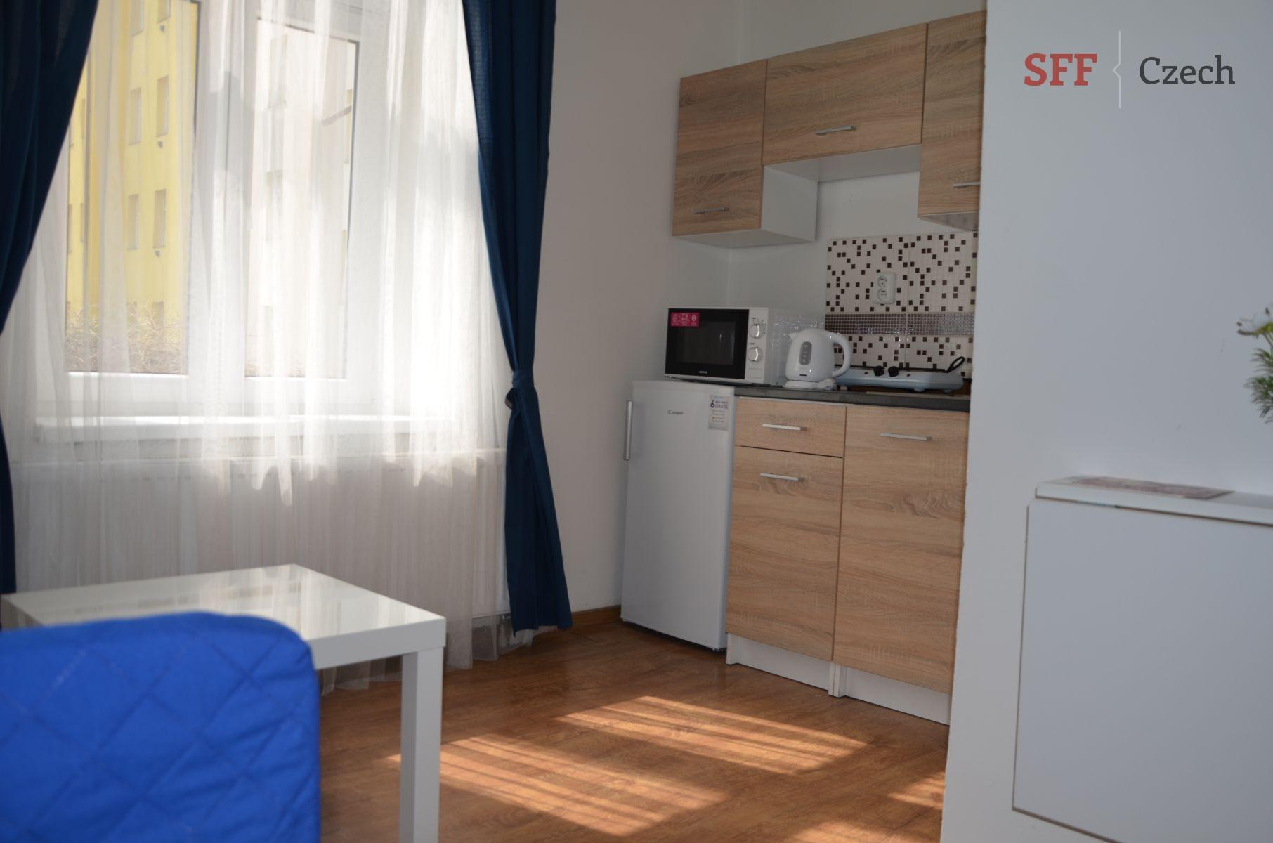 Vybavené studio k pronájmu Praha 4 Nusle blízko centra