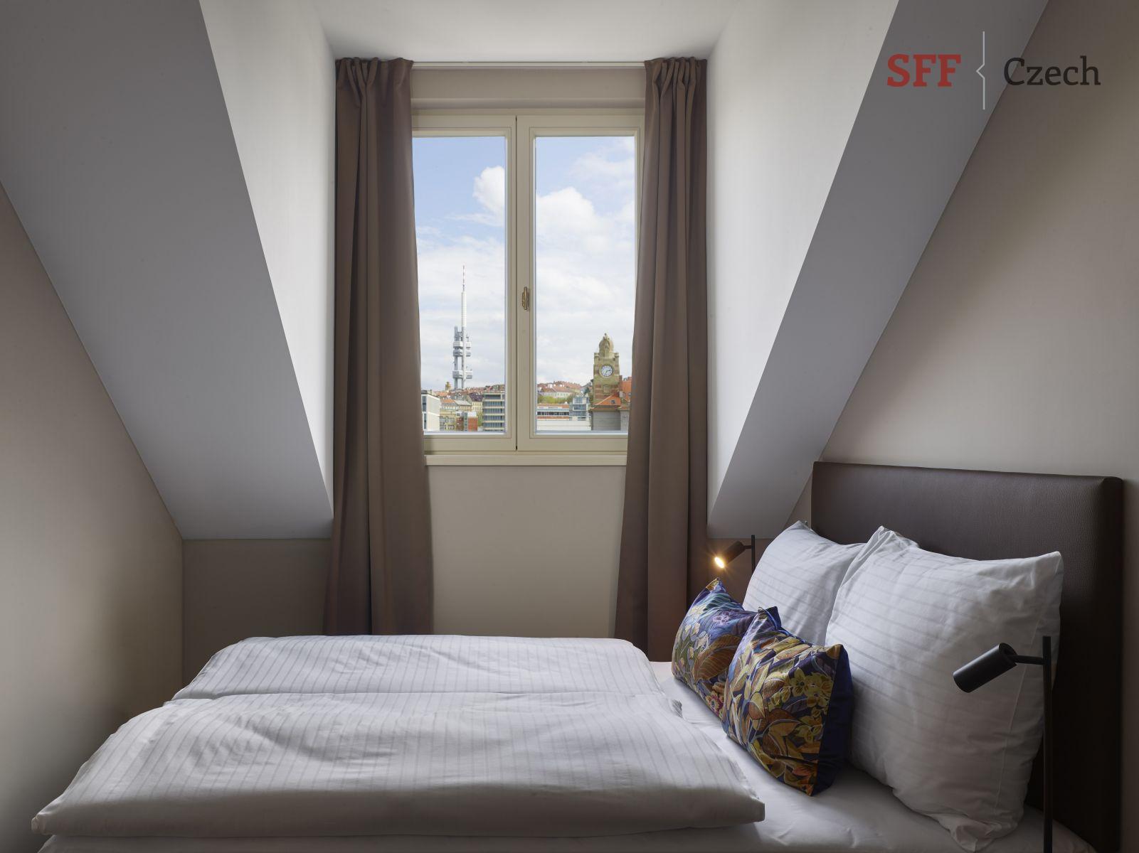 Luxusní novy plně zařízený byt v centru Prahy k pronájmu Opletalova Praha 1