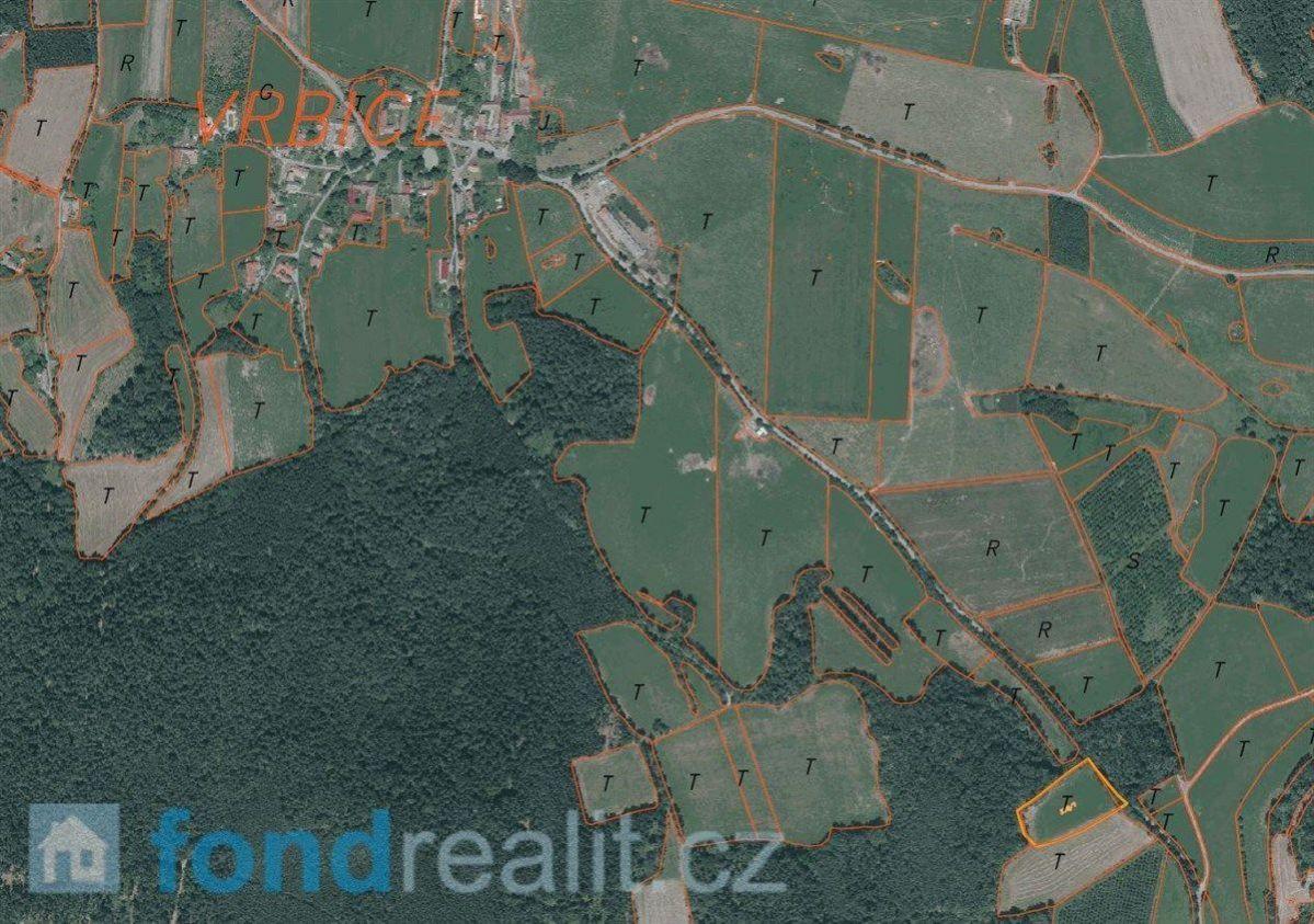 Prodej pozemku Vrbice u Žitné