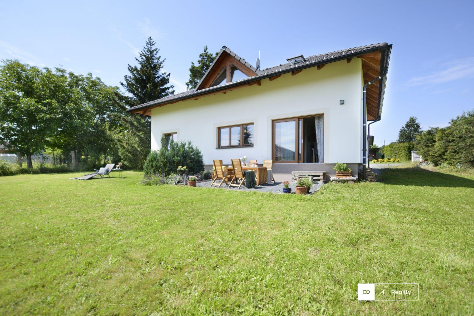 Prodej novostavby rodinného domu 5+kk, pozemek 1 304 m2, Ruda