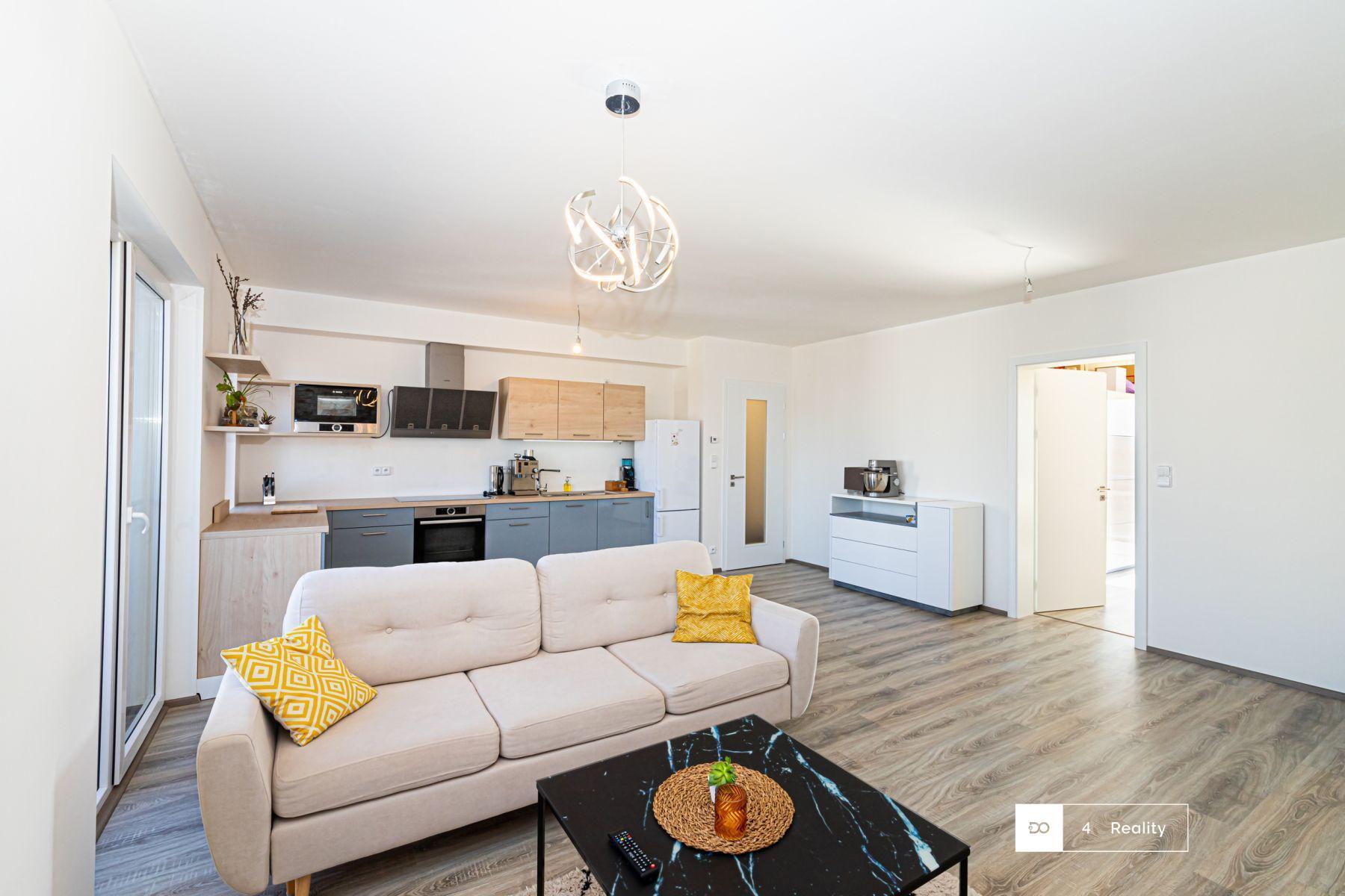 Pronájem atraktivní bytové jednotky 2+kk, 74 m2, 16 500,- Kč, Klíčnay