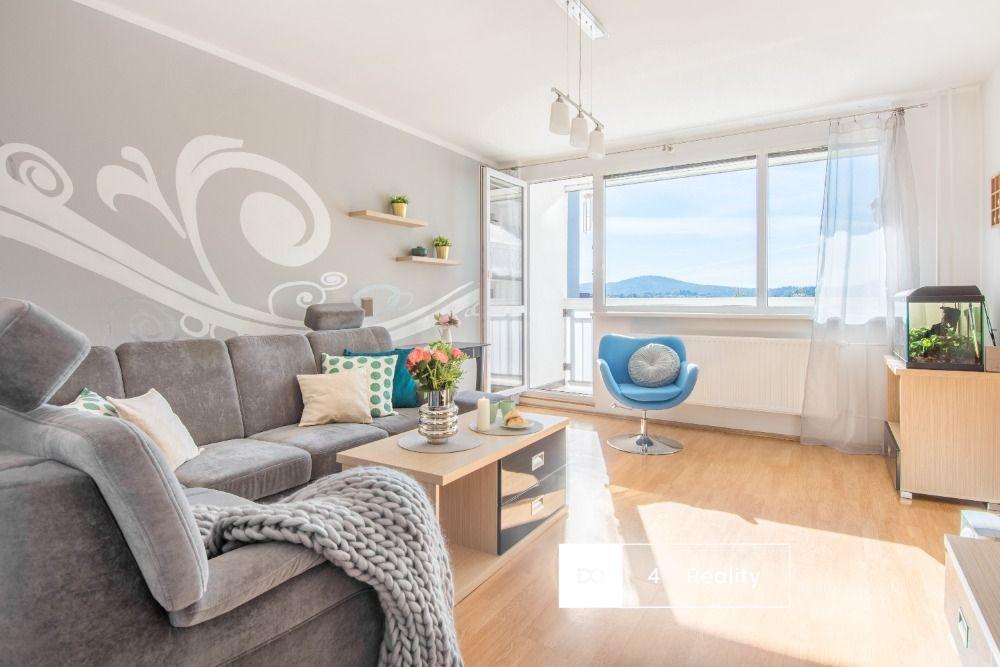 Prodej atraktivní bytové jednotky 3+1/L, 82 m2, 4 190 000,-  Kč, Halasova, Liberec - Rochlice