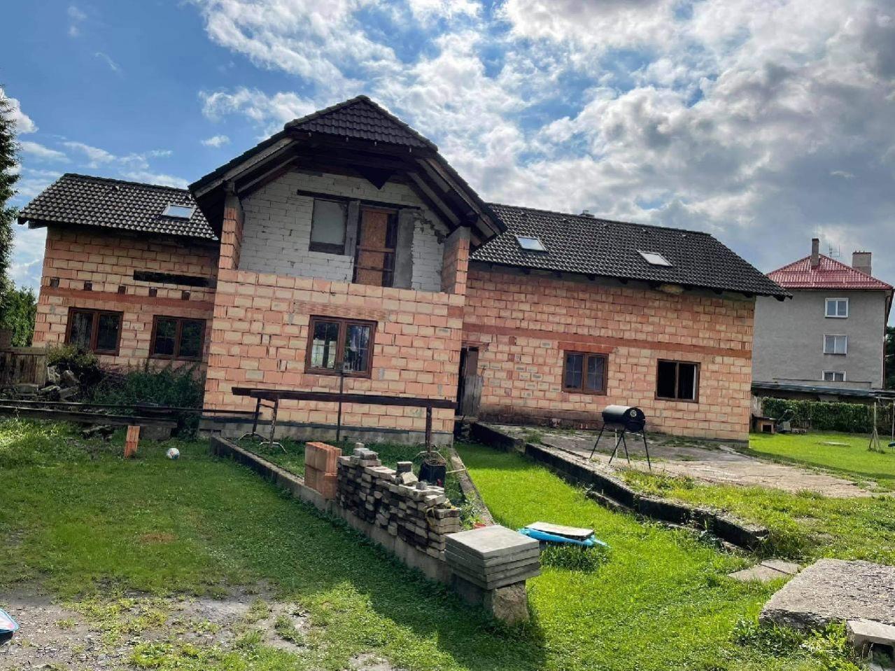 E-aukce rodinného domu, kat. území Arnultovice u Nového Boru, okres Česká Lípa