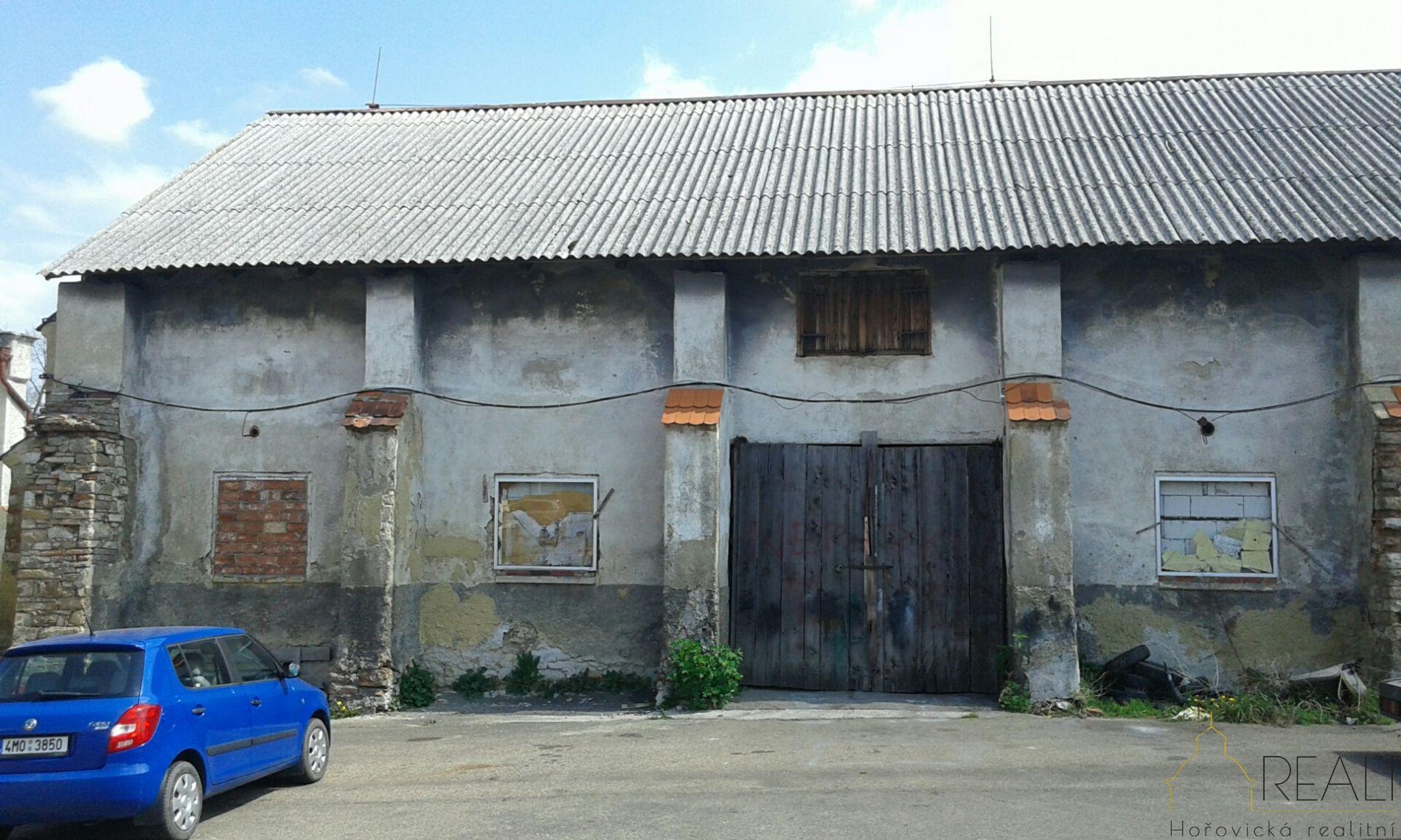 Skladové prostory o výměře 220m2 Hořovice