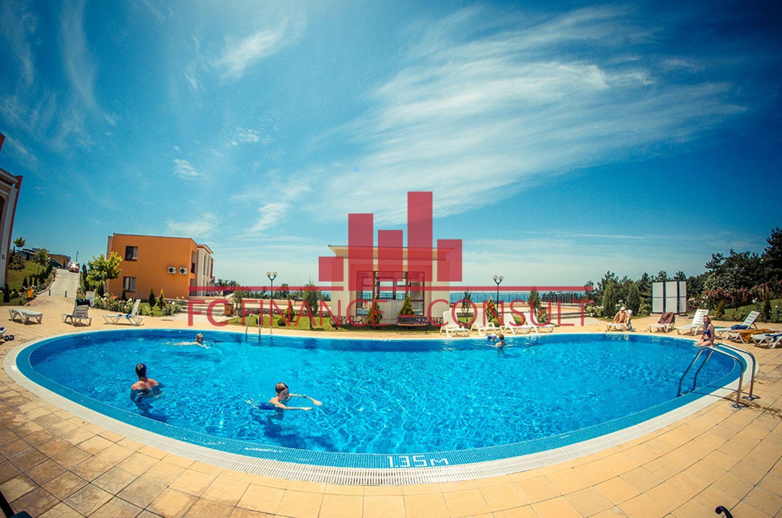 Apartmán 3kk na splátky s výhledem na hory a moře, v novém komplexu, Sveti Vlas, Bulharsko