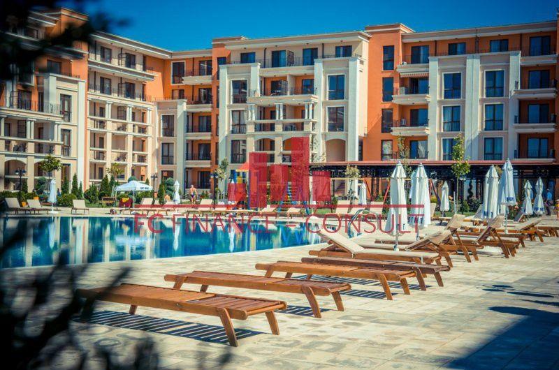 Apartmán 3kk s krásným výhledem na moře (s možností splátek), Sveti Vlas, Bulharsko