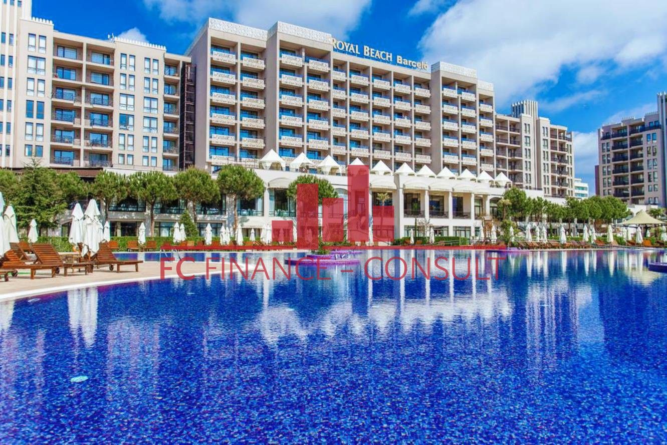 Apartmán v luxusním prázdninovém komplexu na Slunečném pobřeží v Bulharsku