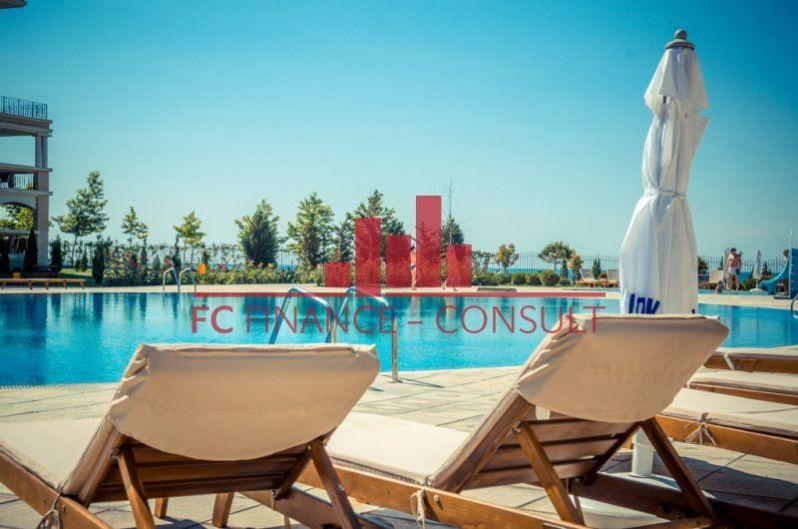 Apartmán 2kk na pláži, s panoramatickým výhledem na moře, na splátky, Sveti Vlas , Bulharsko