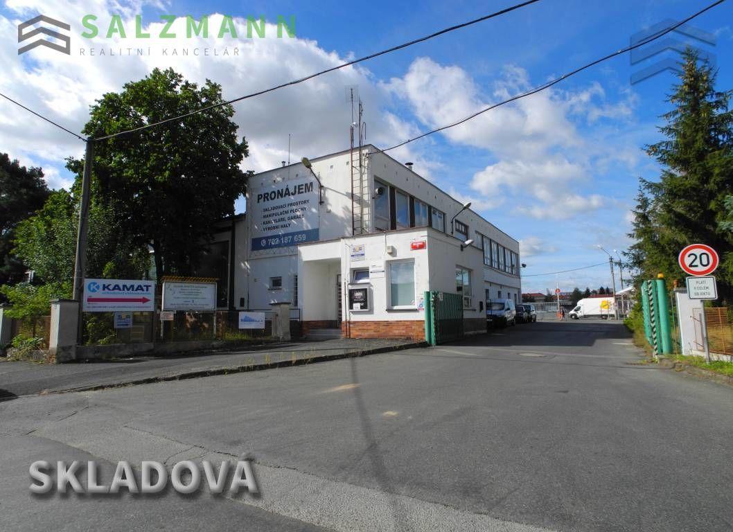 Nebytové prostory - Kanceláře (panel, 135m2), Plzeň  Slovany, Skladová ul.