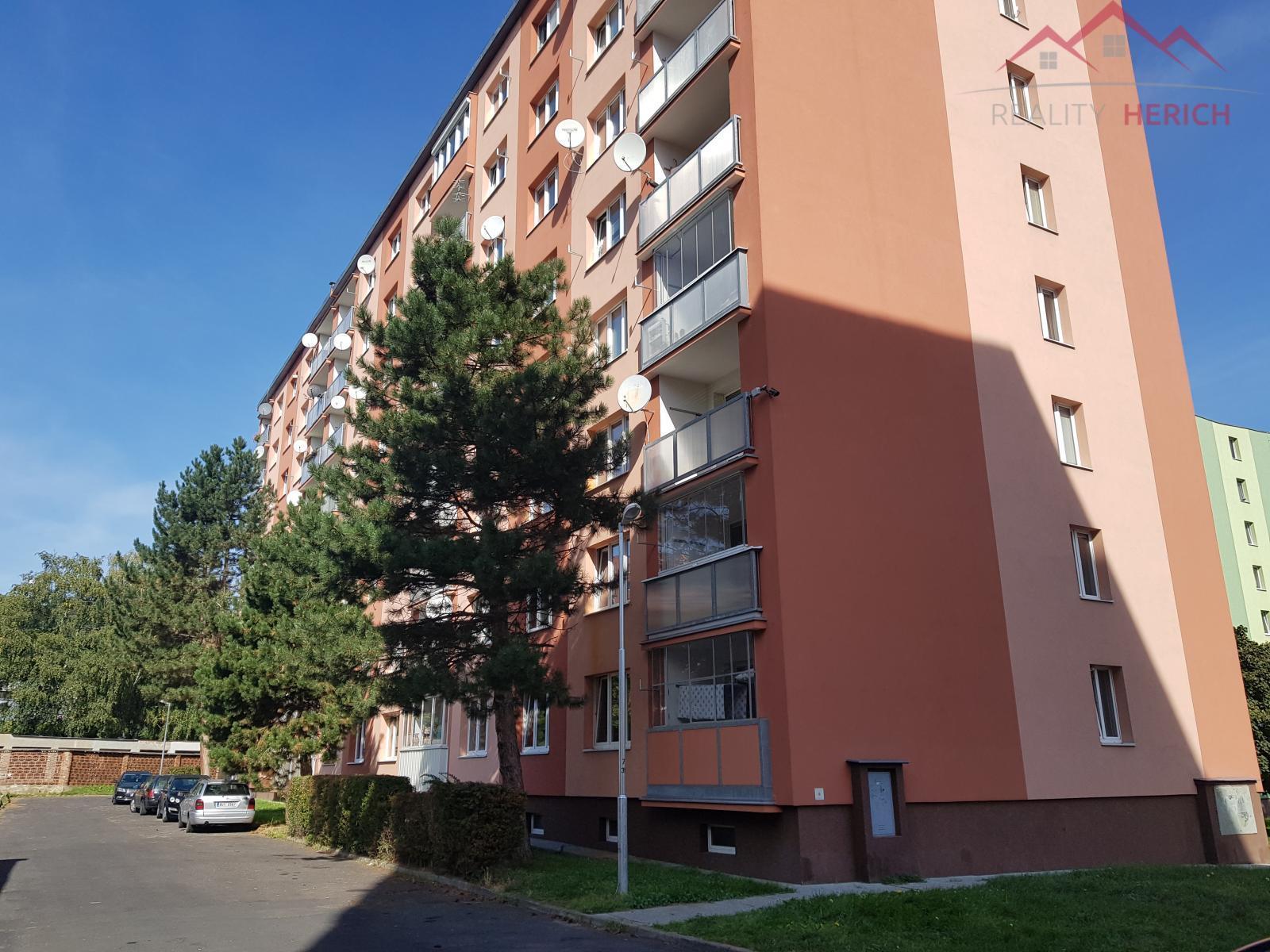 Pronájem bytu 1+1, OV, 36 m2, Studentská ulice, Jirkov
