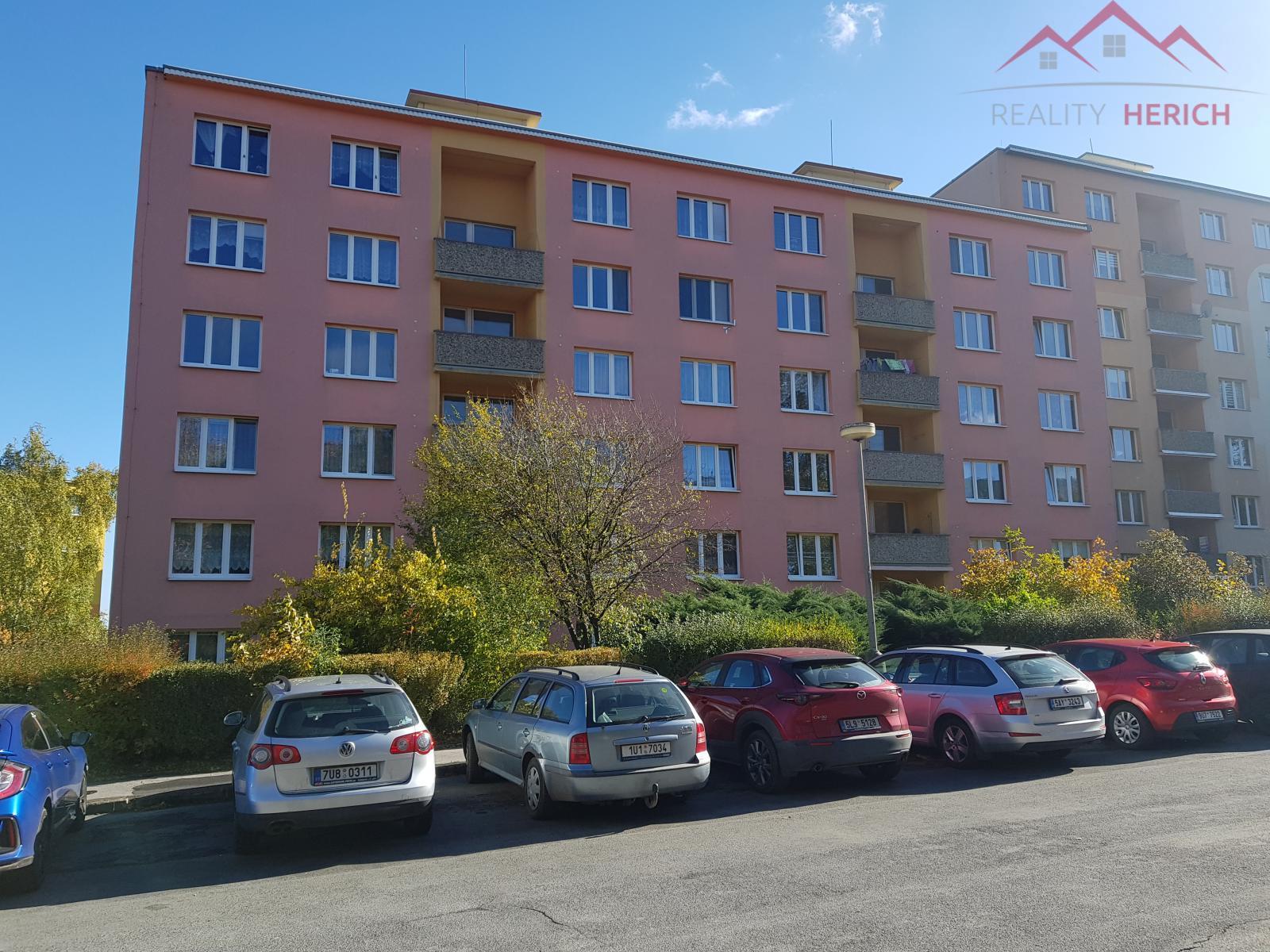 Exklutivní prodej bytu 1+1, OV, 36 m2, Zahradní, Chomutov