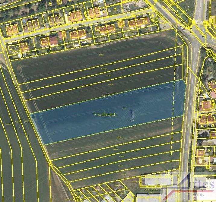 Prodej pozemku 12.125 m2, Brno - Ivančice