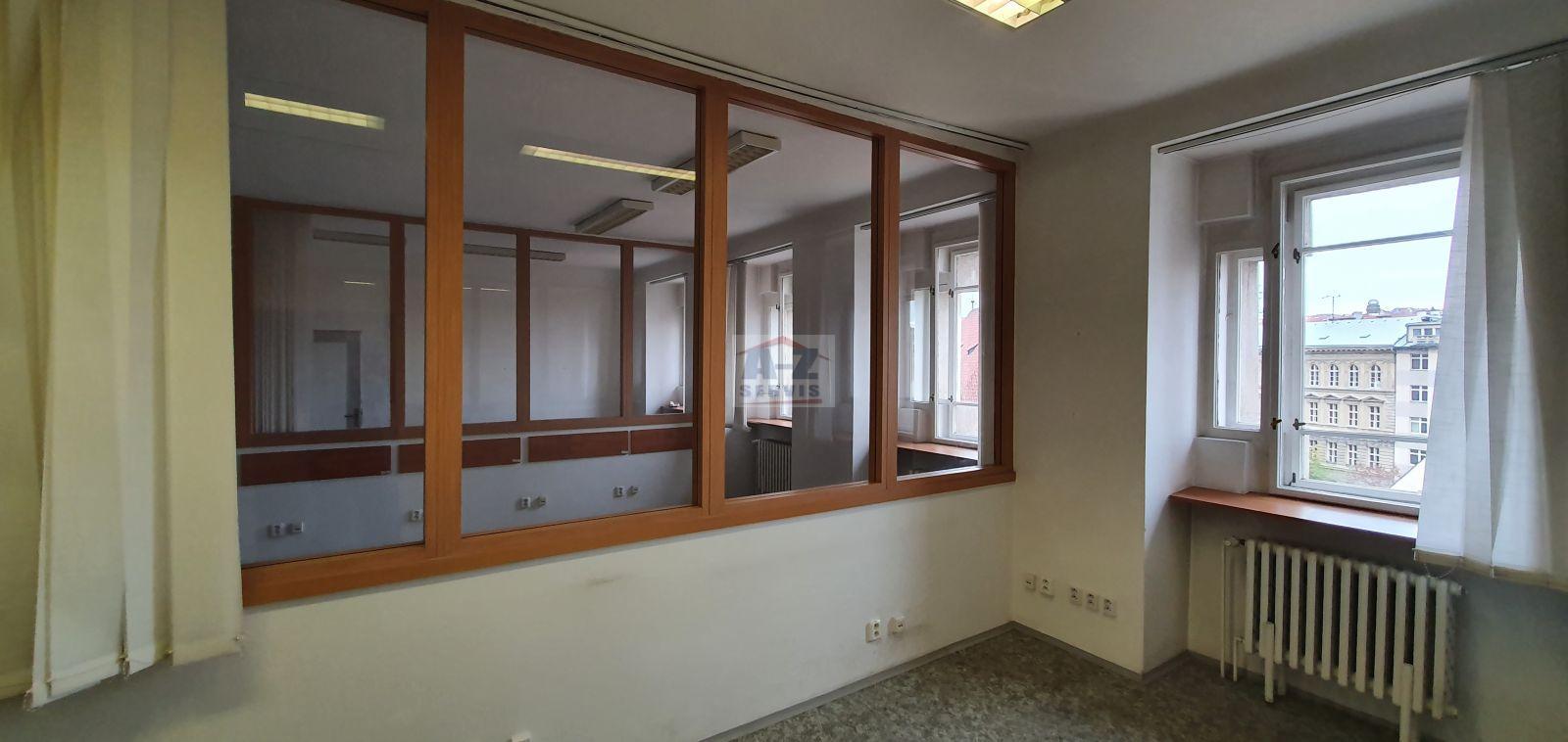 Kancelářské prostory 444 m2 Praha 1- Nové město ulice Jindřišská