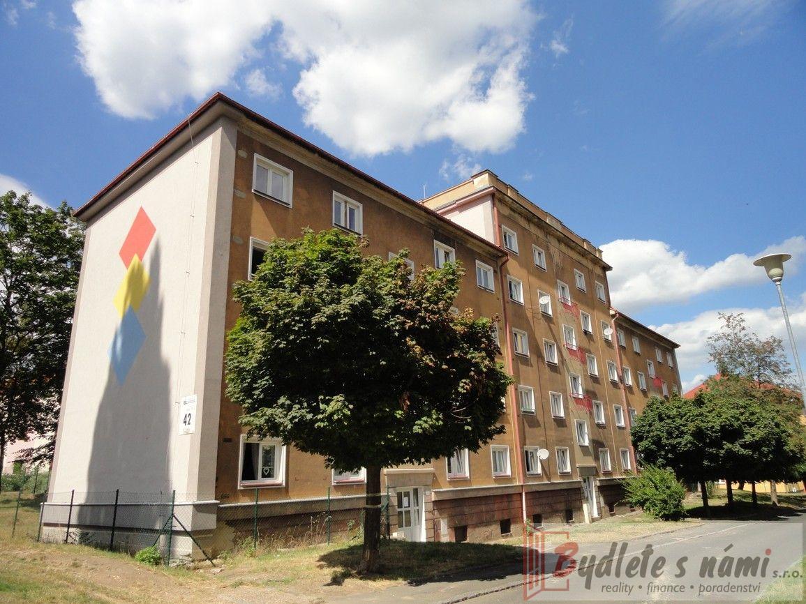 Exkluzivně-Atraktivní pronájem bytu 3+KK+balkón, ul.K.Biebla, bl.42, Most-Po rekonstrukci