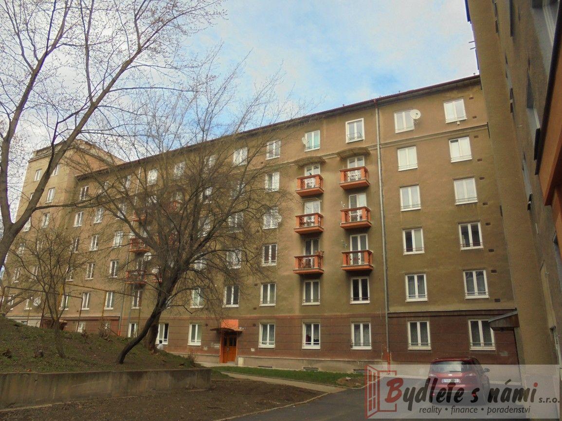 Most, prodej bytu 1+1+B, tř. Budovatelů, bl. 90, 37 m2