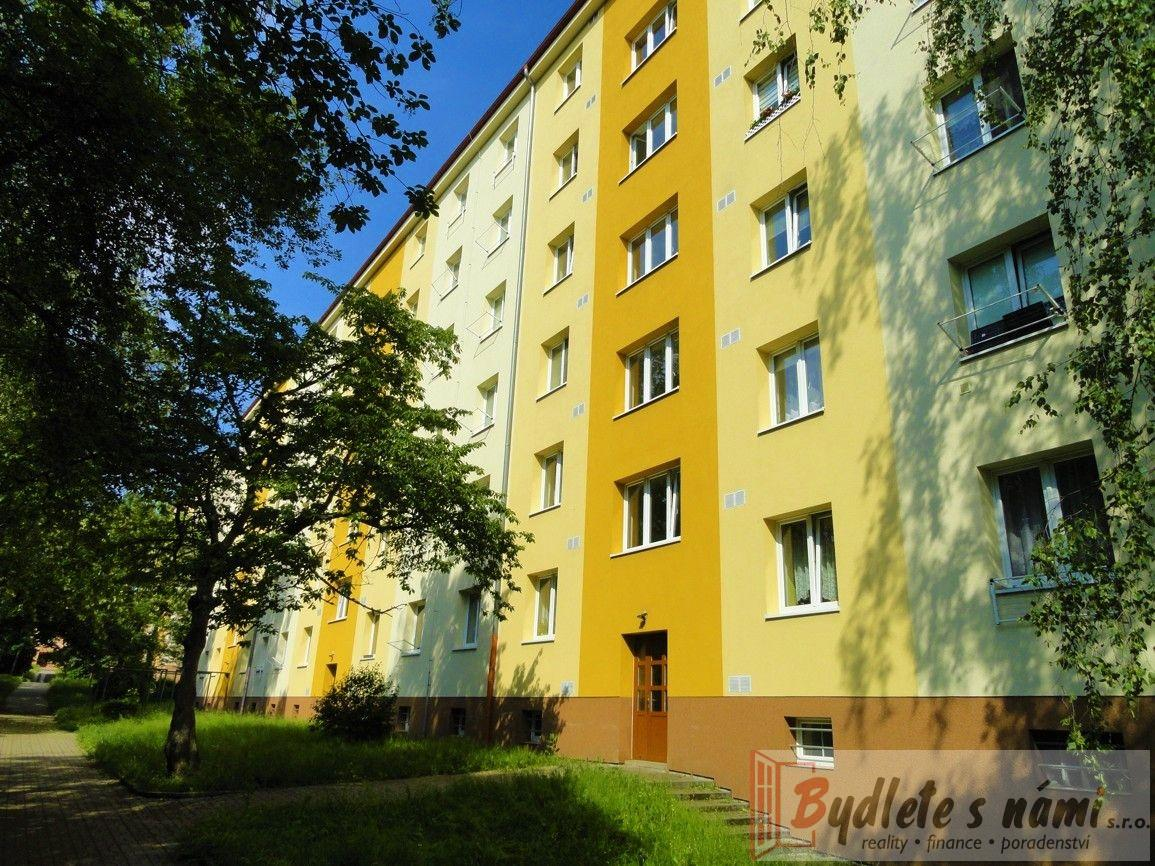Exkluzivně atraktivní pronájem bytu 2+1, ul.Jaroslava Vrchlického bl.291, Most-55 m2