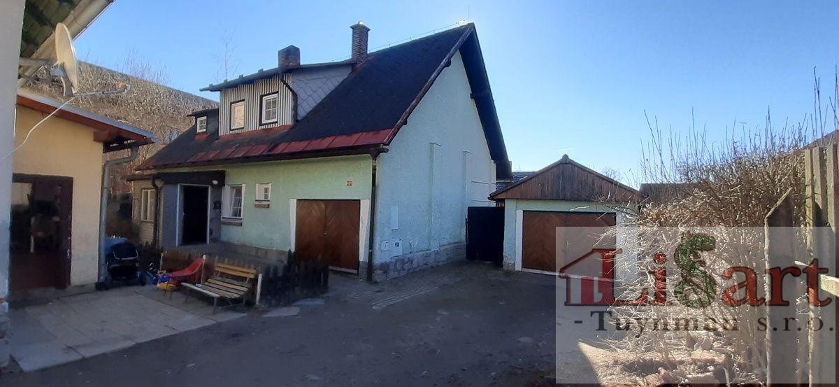 Volary - prodej rodinného domu, 3+1, garáž, dvůr